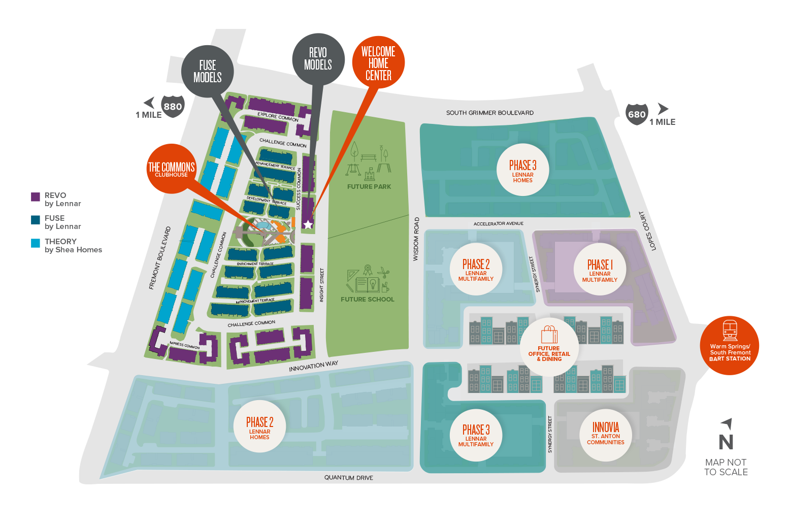 Innovation Site Map